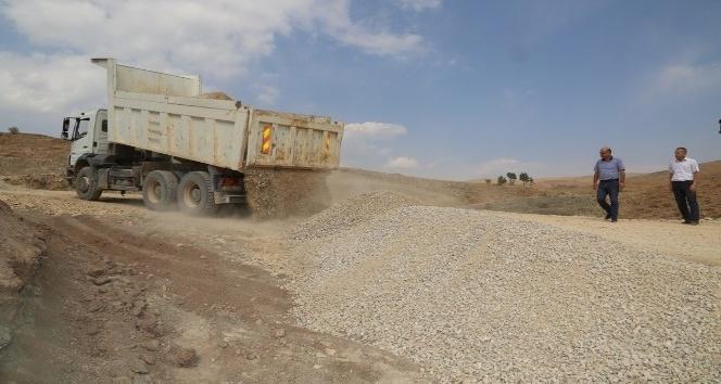 Tunceli'de yol çalışmaları