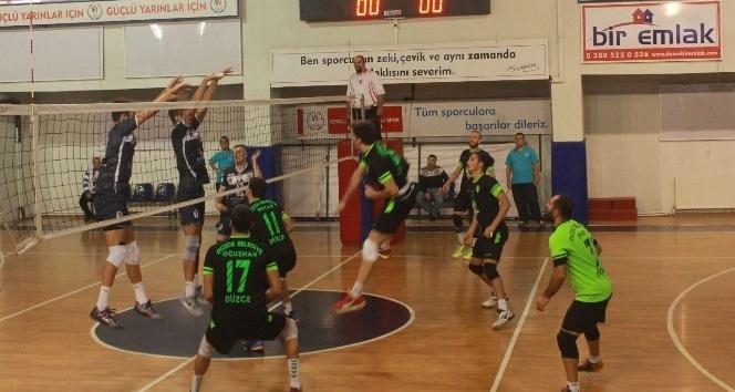 Düzce Belediyespor Basketbol ve Voleybol takımları lige hazır