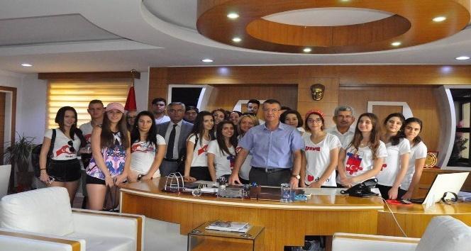 Slovakyalı öğrenciler Kadirli kültürünü tanıyor