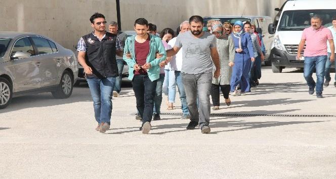 Elazığ merkezli FETÖ operasyonunda 13 şüpheli adliyeye sevk edildi