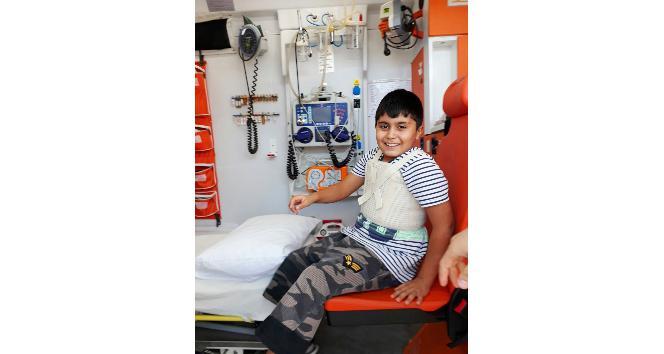 İstanbul'dan gelen 6 yaşındaki çocuk Denizli'de kalp ameliyatı oldu