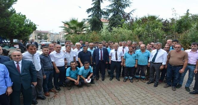 Başkan Genç, Park ve Bahçeler Müdürlüğü personeliyle bir araya geldi