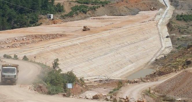 Şehidin adının verildiği baraj 28 bin 500 dekarı sulayacak