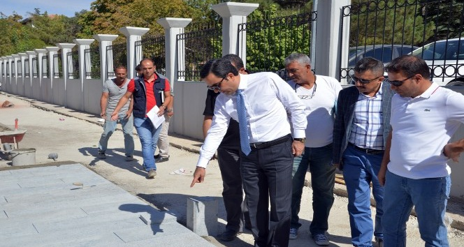 Kırşehir'de altyapı çalışmaları