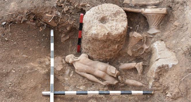 Pisidia Antiokheiada yeni eserler bulundu