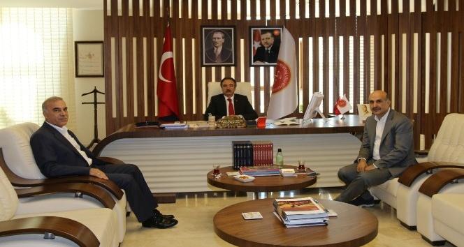AK Parti Mardin Milletvekili Akdağ'dan Rektör Bağlı'ya ziyaret