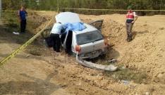 Bartında kamyon ile otomobil çarpıştı: 1 ölü, 4 yaralı