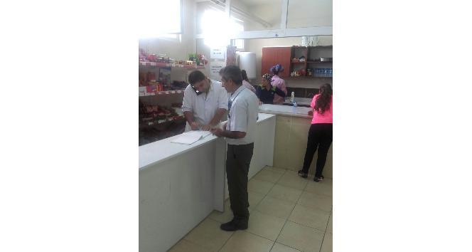 Samandağ Belediyesi Zabıta Müdürlüğü ekipleri okul kantinlerini denetledi