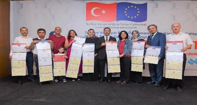 DTO'nun Avrupa Birliği Fon Destekli Eğitim Projesi tamamlandı