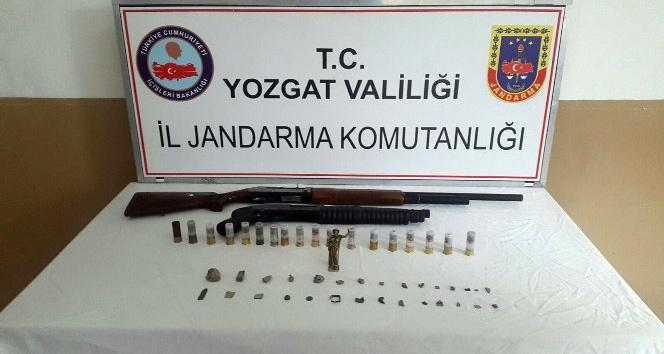 Yozgat'ta 34 parça tarihi eser ele geçirildi