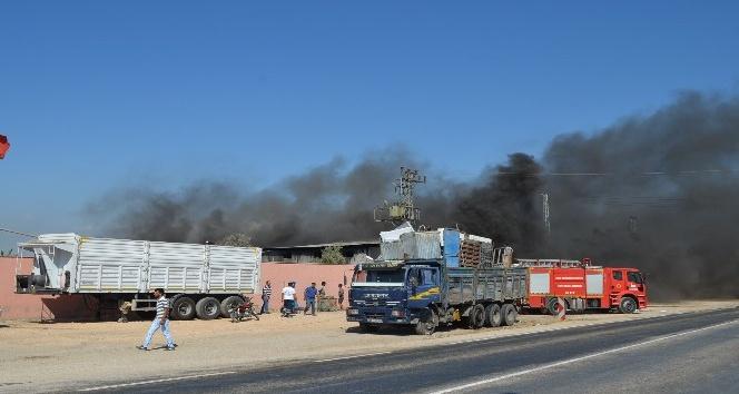 Hatay'da hurdacı deposunda patlama: 3 işçi yaralı