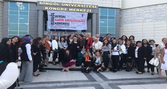 Kadın Girişimciler Kurulu Bingöl'de kongreye katıldı