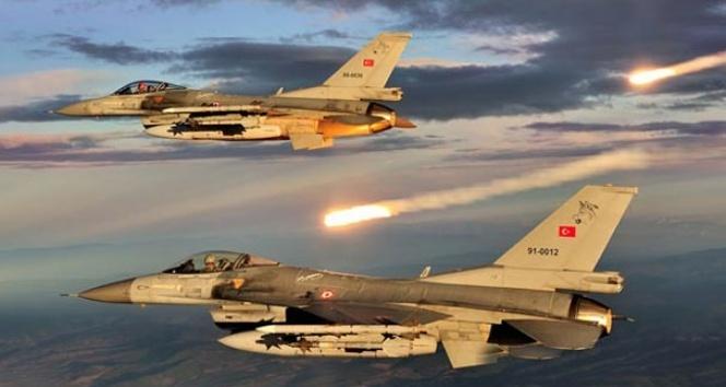TSK Irak'ın kuzeyindeki terör yuvalarını imha etti