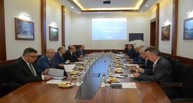 Trakya Kalkınma Ajansı Eylül Ayı Yönetim Kurulu Toplantısı Kırklareli'nde yapıldı