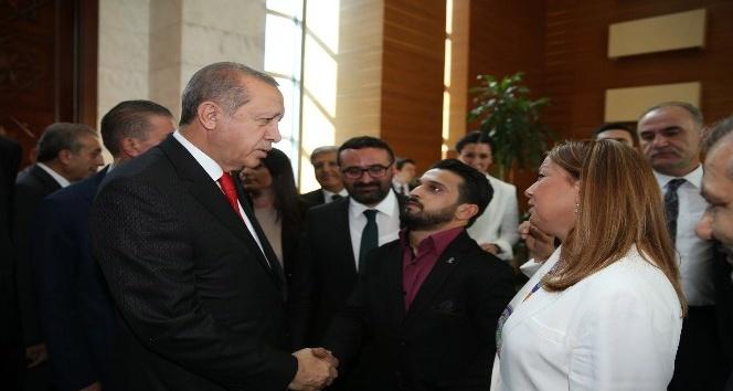 Engelli gencin Cumhurbaşkanı Erdoğan'la görüşme hayali gerçekleşti