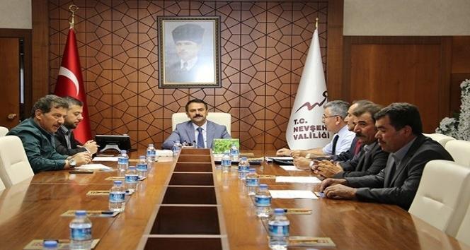 Köylere Hizmet Götürme Birliği encümen toplantısı yapıldı