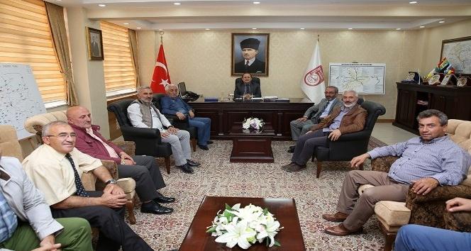 Bayburt Grup Özel İdare Kulüp yönetimi, Vali Pehlivan'ı ziyaret etti