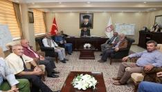 Bayburt Grup Özel İdare Kulüp yönetimi, Vali Pehlivanı ziyaret etti