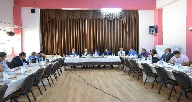 Elazığ'da eğitimde iş birliği toplantısı