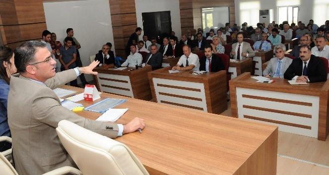Balcı, okul müdürleriyle eğitim sorunlarını konuştu