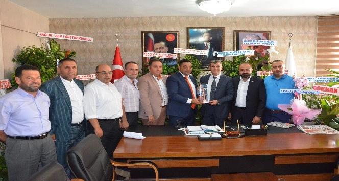 ATSO heyeti AK Parti İl Başkanı Altınsoy ile görüştü