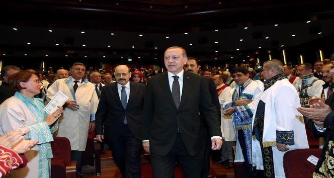 Rektör Karabulut YÖK törenine katıldı