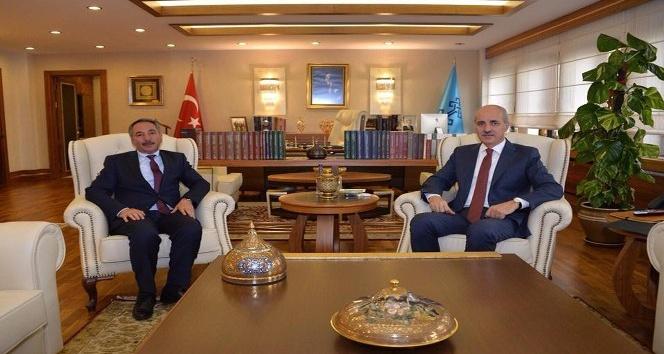 Rektör Karabulut'tan Bakan Kurtulmuş'a ziyaret