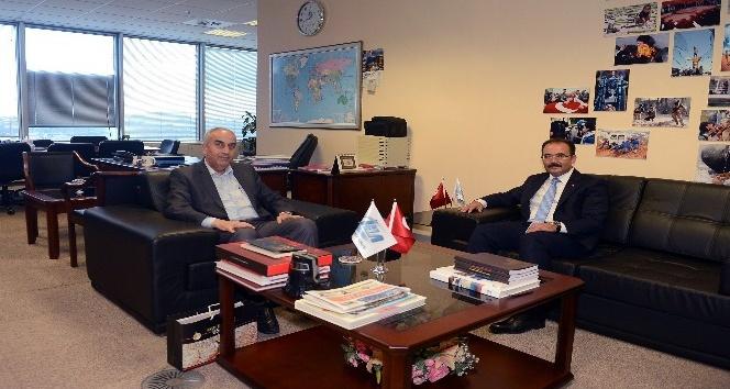 Uşak Belediye Başkanı Nurullah Cahan'dan İHA'ya ziyaret