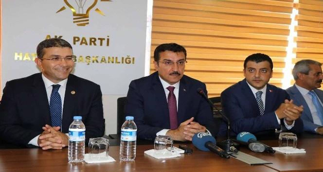 Bakan Tüfenkci'den AK Partililere 2019 için seferberlik çağrısı