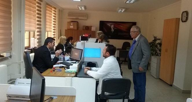Edirne'de 23 bin kişi çipli kimlik aldı