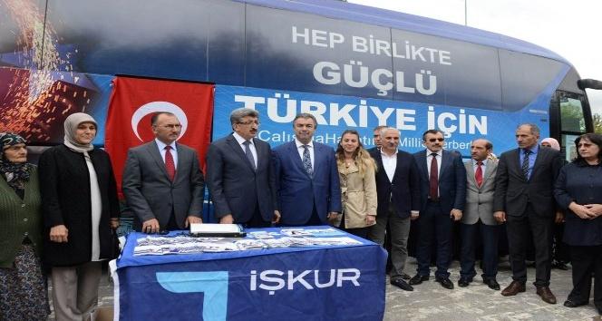 İŞKUR Otobüsü Ardahan'da