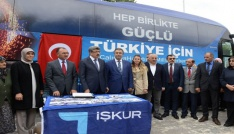İŞKUR Otobüsü Ardahanda
