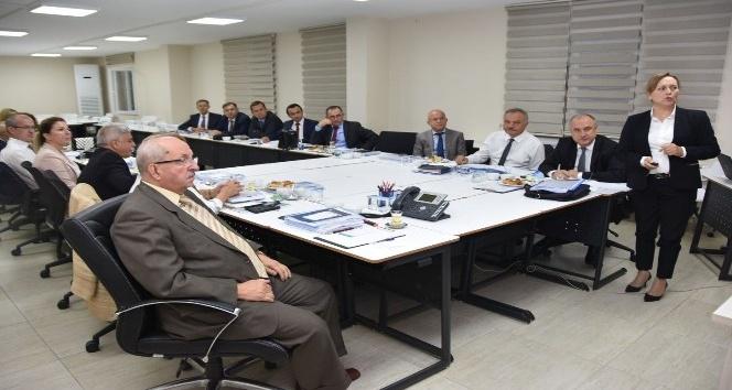 Başkan Albayrak'a TESKİ'nin faaliyetleri anlatıldı
