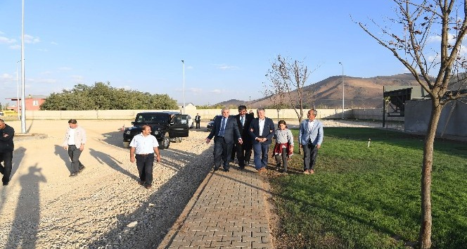 Başkan Asya, nakil istasyonunu tanıttı