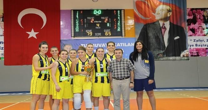 1.Hatay Mediyetler Kupası'nın sahibi Fenerbahçe oldu