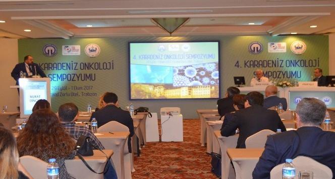 4.Karadeniz Onkoloji Sempozyumu Trabzon'da başladı
