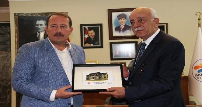AK Parti Genel Başkan Yardımcısı Karacan İskenderun'da