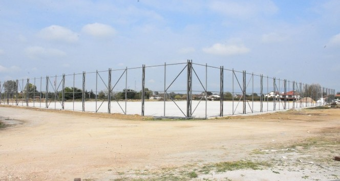 Spor kompleksi inşaat çalışmaları devam ediyor