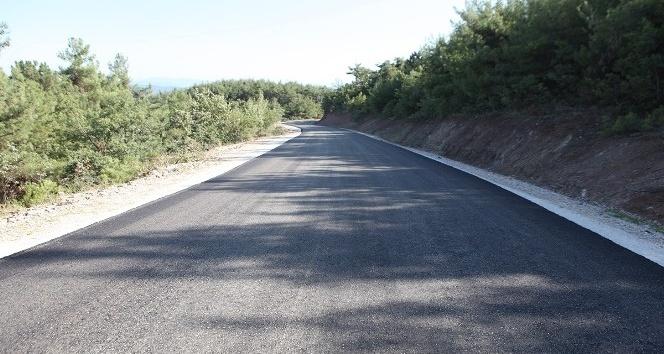 Pamukova'ya 65 milyonluk altyapı 55 kilometre asfalt