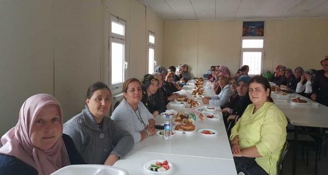 Ortaokulda kahvaltılı toplantı
