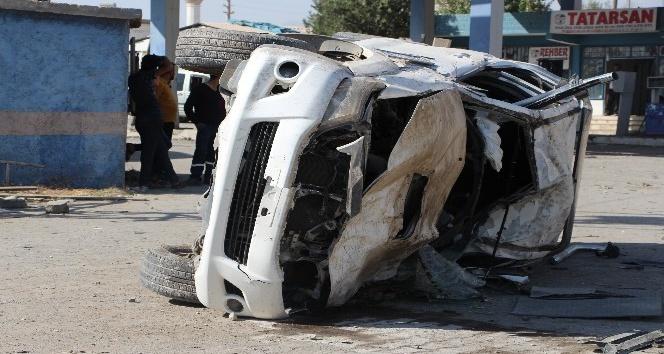 Şırnak'ta feci kaza: 1 ölü, 2 yaralı