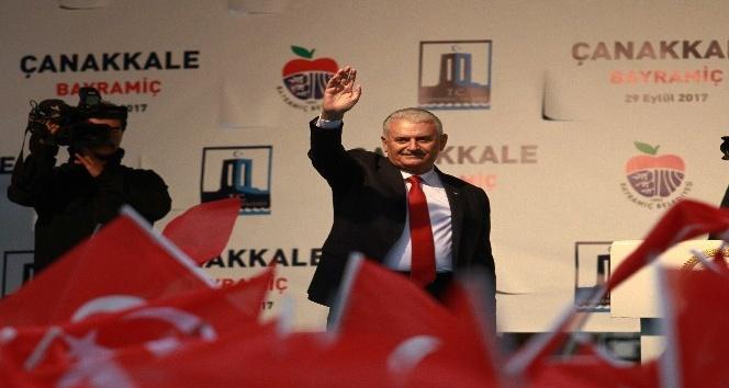 Başbakan Yıldırım, Mehmet Akif Ersoy Evi'nin açılışını yaptı