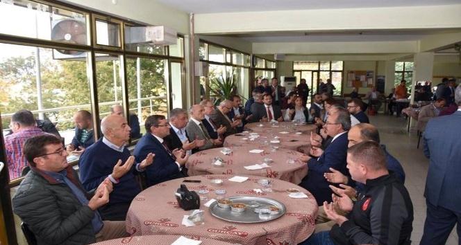 Başkan Albayrak Aşure etkinliğine katıldı