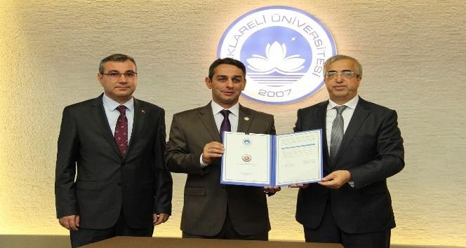 Üniversitesi adliye işbirliği protokolü