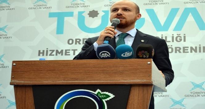 """Bilal Erdoğan: """"Bize gerici diyenler mandacıdır"""""""