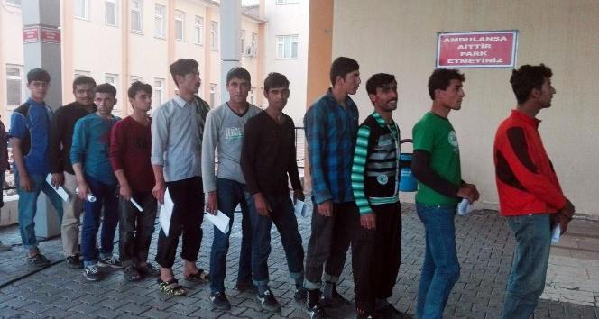 Avrupa hayali ile yola çıkan 26 mülteci yakalandı