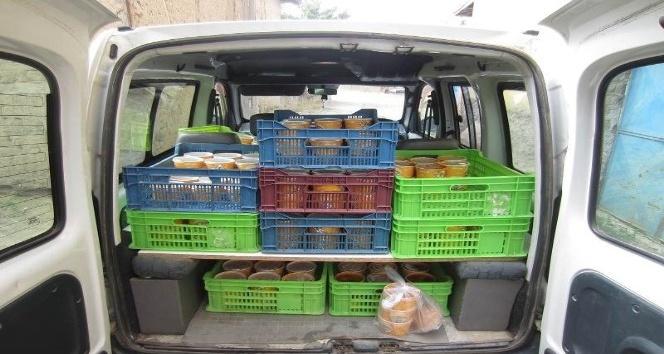 Sungurlu'da 106 aileye günlük yemek verilecek