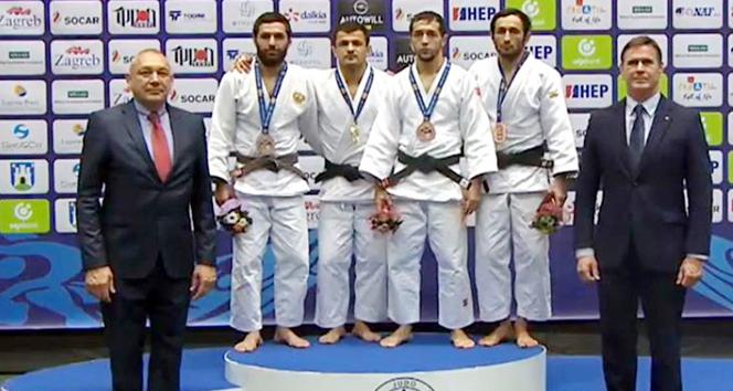 Judo Grand Prixde iki bronz madalya