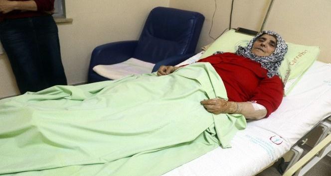 Selde helikopterle kurtarılan yaşlı kadın o anları anlattı