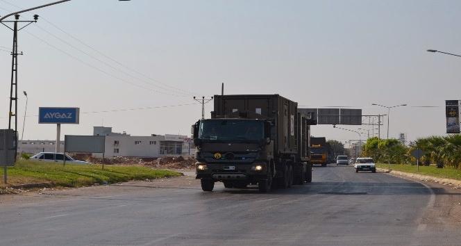 Suriye sınırına askeri sevkıyat